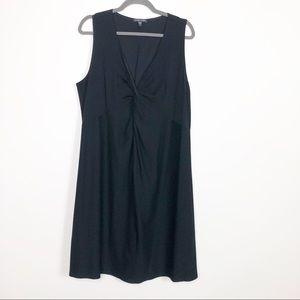 Eileen Fisher NEW Sleeveless Black Dress size XL